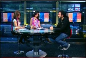 alan azar future tv interview + live shots from concert